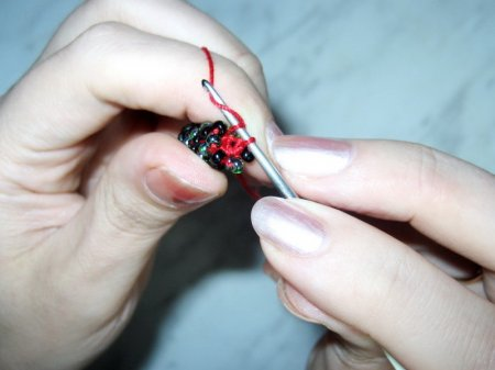 Сшивание вязаного жгута (МК).